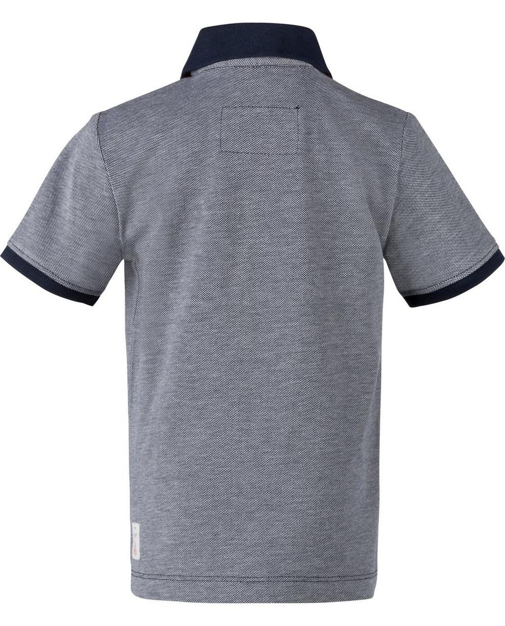 Polos - Navy - Polo met patch